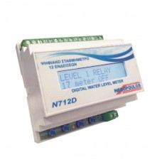 N712D LCD WATER LEVEL METER  WITH FLOAT RELAY