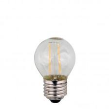 BULB LED MINI GLOBE FILAMENT 3W E27 2700K 240V
