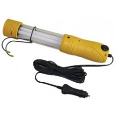 TROUBLE LIGHT 5m 2X0.75 YELLOW SWITCH & CAR PLUG SCI