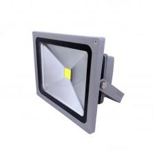 PROJECTOR LED COB 30W GREY IP65 6500K 24V