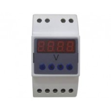 DIN RAIL INSTRUMENT DIGITAL VOLTMETER AC 0-600V SFD-GK1-U SFM