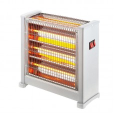 QUARTZ HEATER 2800W BLACK 3FACE