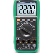 DIGITAL MULTIMETER FULL FUNCTION TRUE RMS + AUTORANGE MT-1710 T/PRO